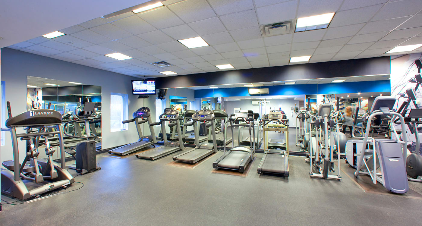 State-of-the-art fitness center at Residences on Bloor