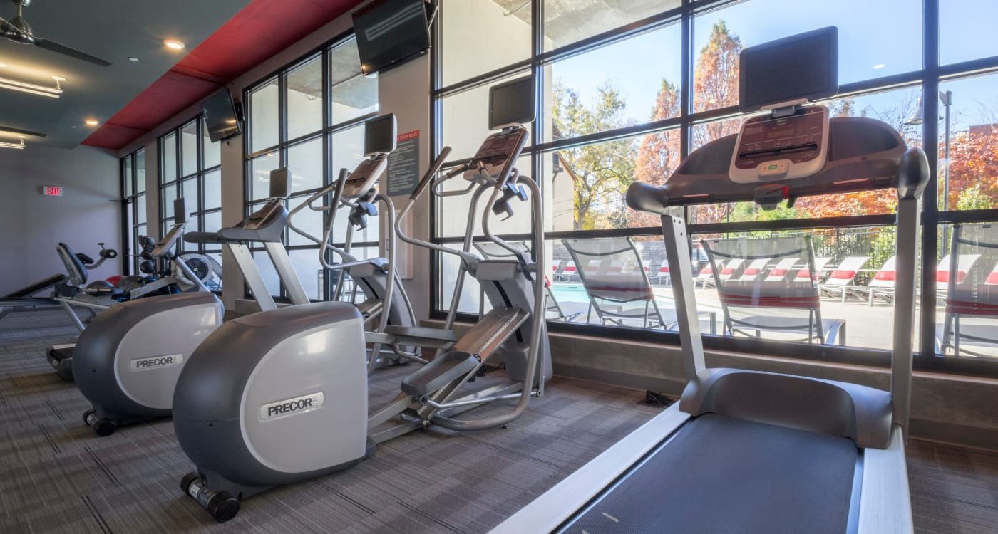 Fitness center at Inman Quarter in Atlanta, Georgia