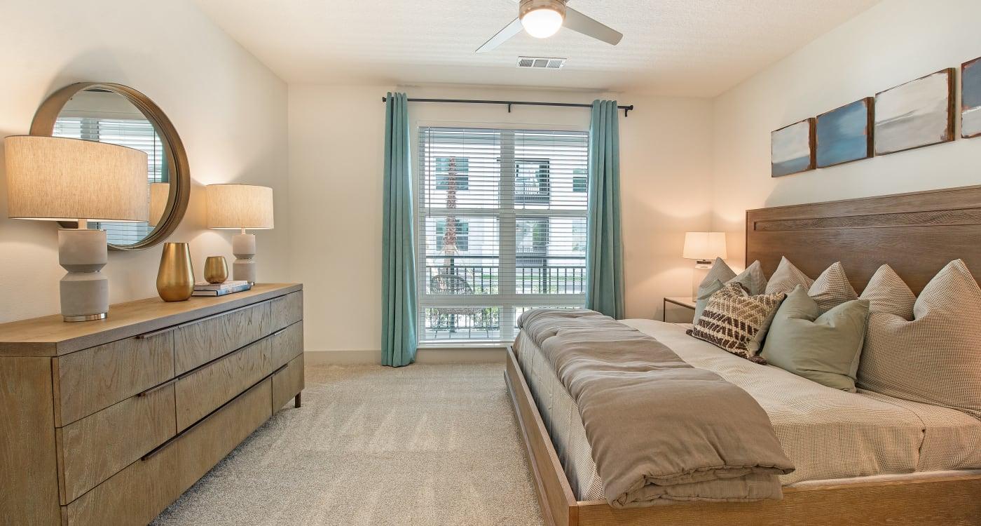 Master Bedroom at Riverside St. Johns