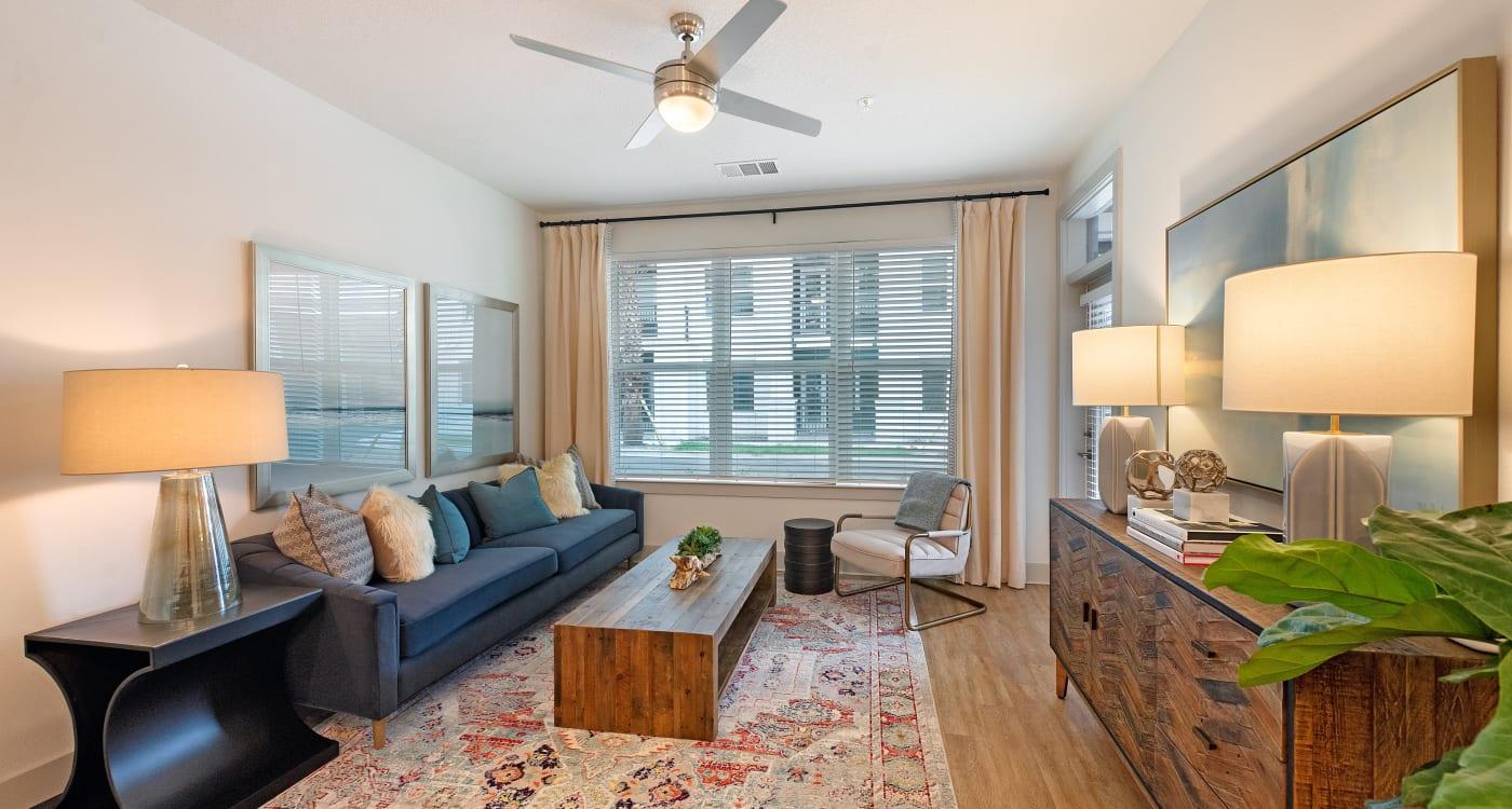 Living Room at Riverside St. Johns