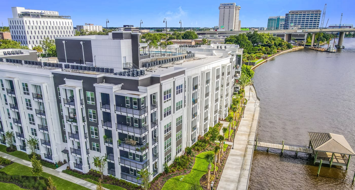 Aerial Exterior View at Riverside St. Johns