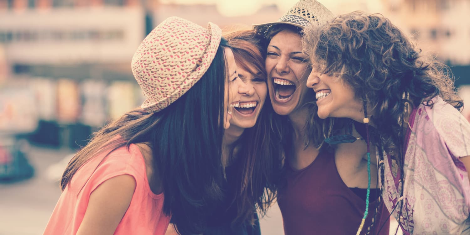 Girlfriends from Haven at Liberty Hills sharing a laugh together in Houston, TX