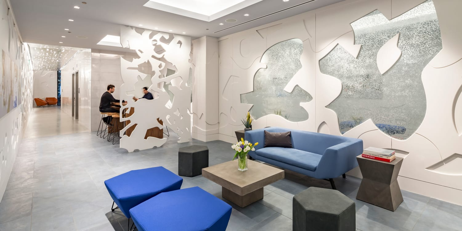 AdMo Heights reception area in Washington, District of Columbia