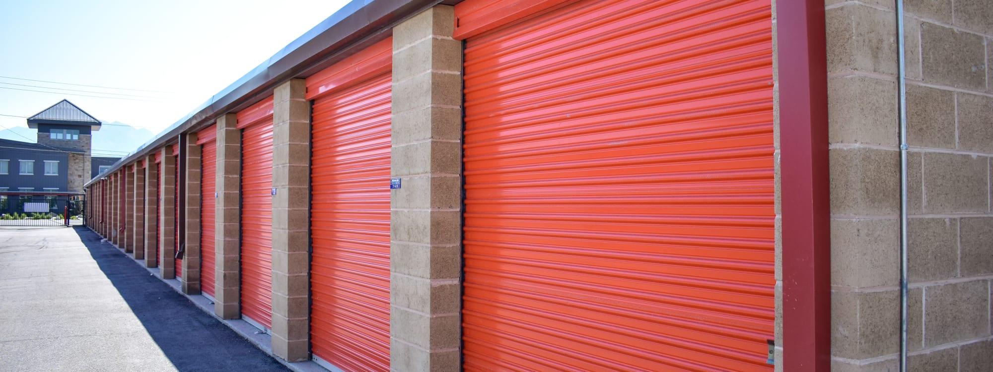 Self storage options at STOR-N-LOCK Self Storage in Taylorsville, Utah