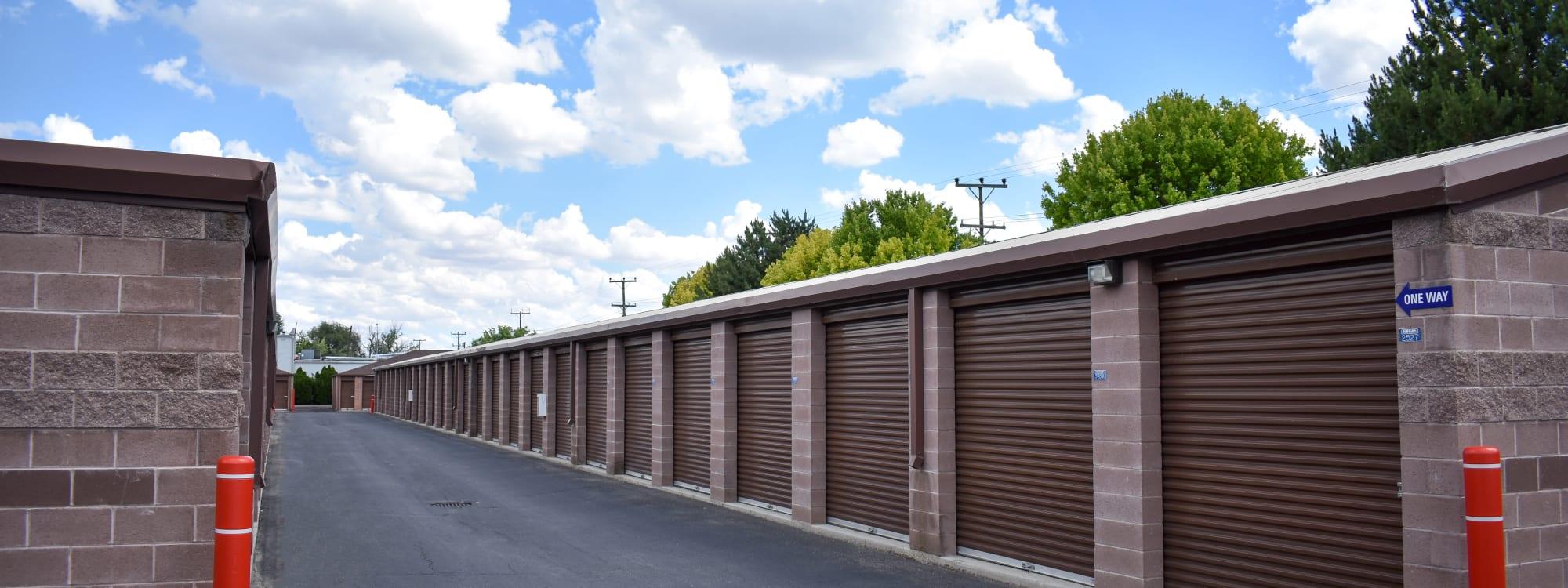 Self storage options at STOR-N-LOCK Self Storage in Boise, Idaho