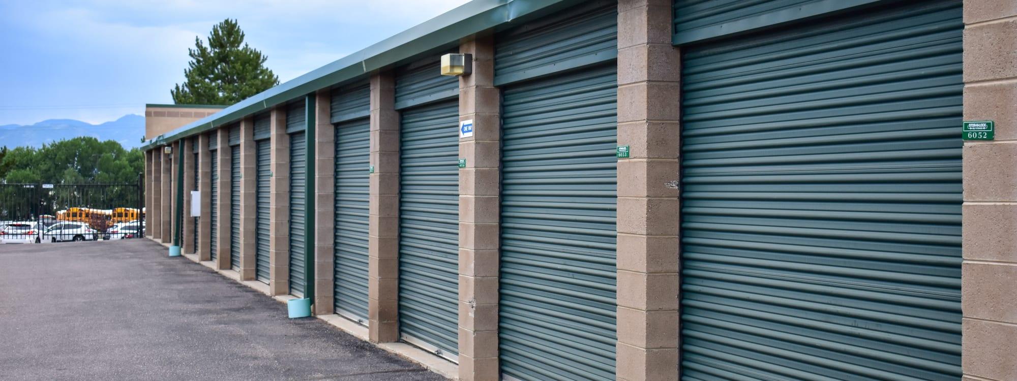 Self storage options at STOR-N-LOCK Self Storage in Littleton, Colorado