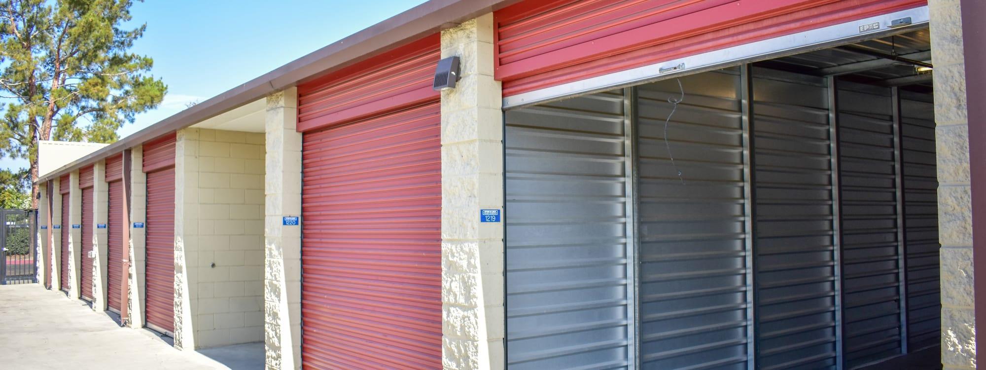 Self storage options at STOR-N-LOCK Self Storage in Rancho Cucamonga, California
