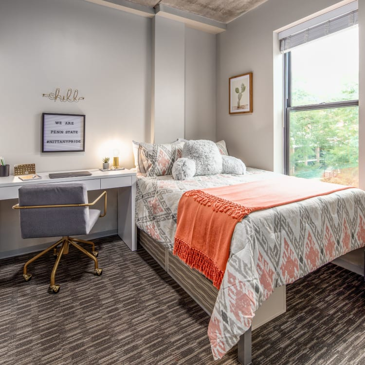 View our floor plans at RISE at State College in State College, Pennsylvania