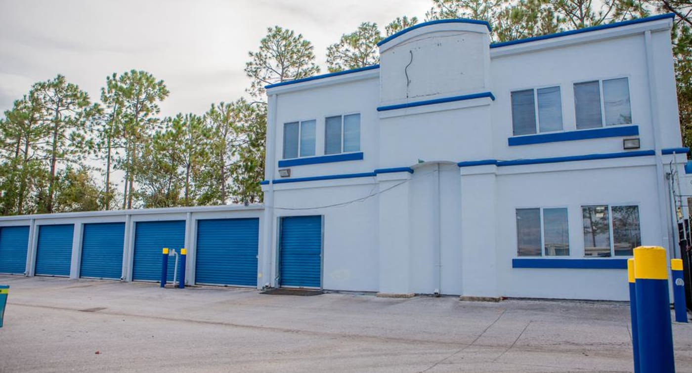 Amplious storage units at Atlantic Self Storage