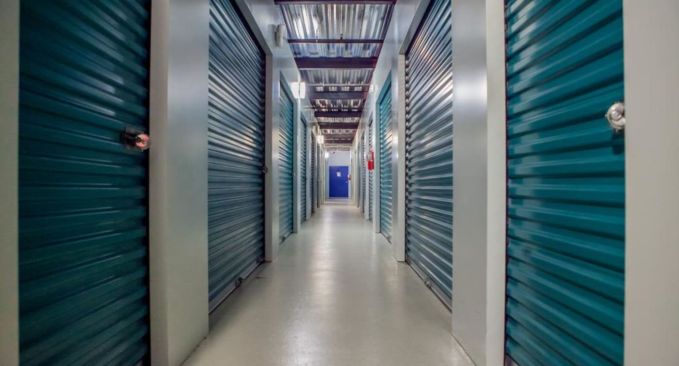 Interior units at Atlantic Self Storage in Jacksonville