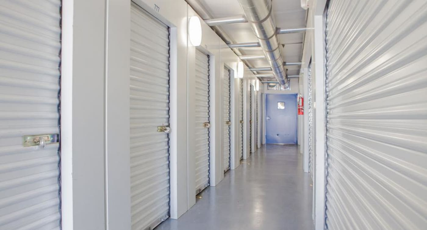 Interior units offered at Atlantic Self Storage location in Jacksonville