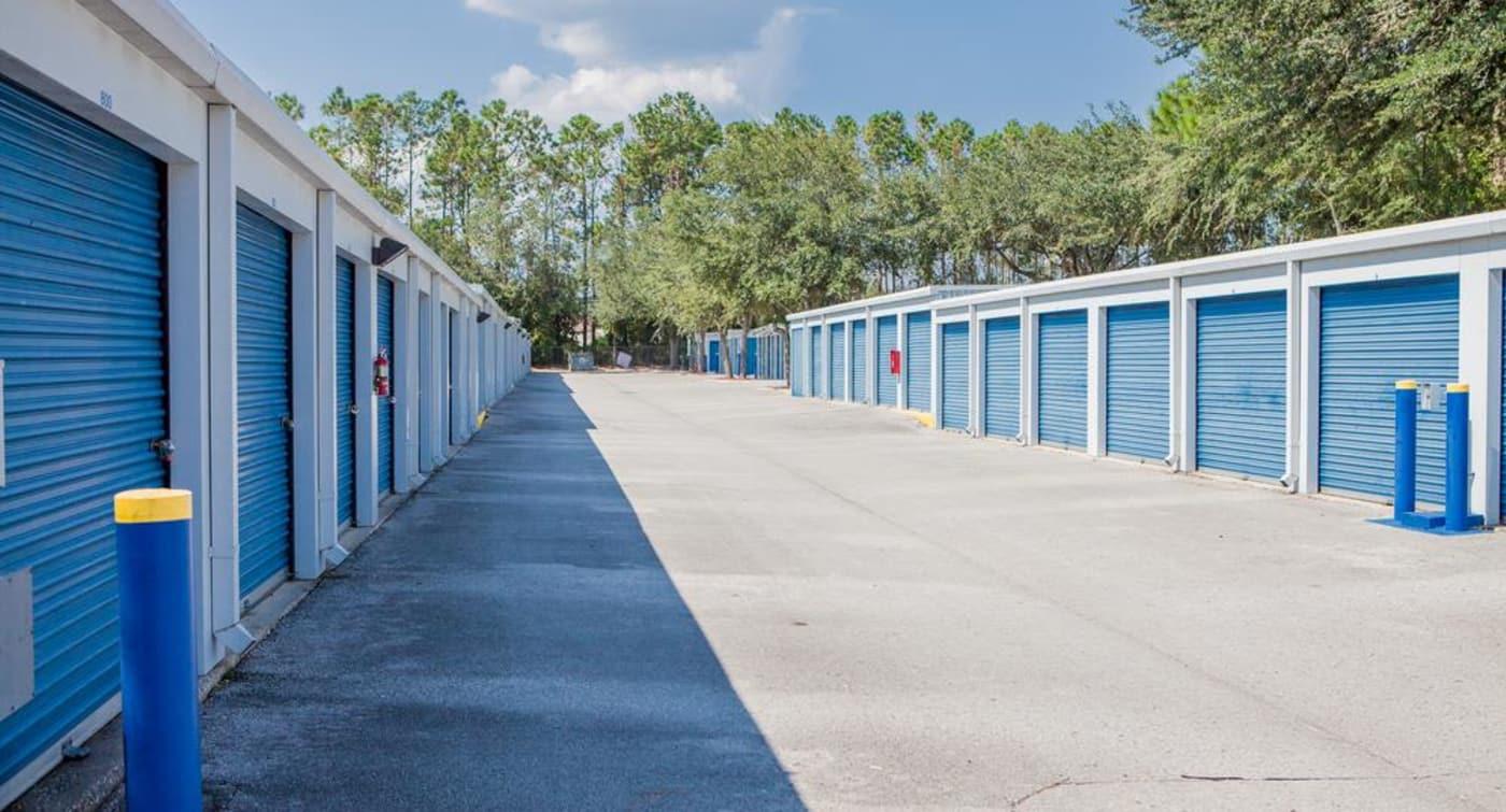 Exterior units at Atlantic Self Storage in Atlantic Self Storage