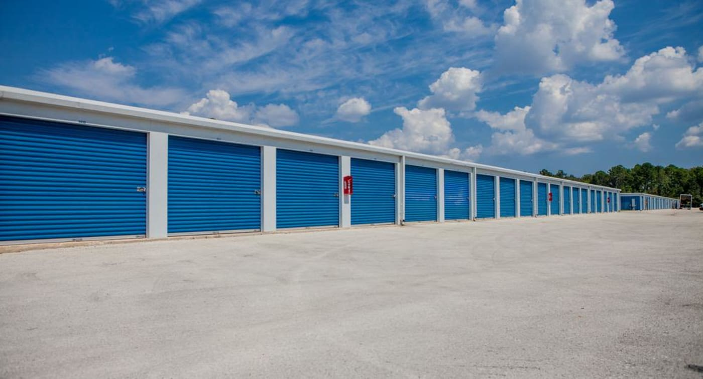 Atlantic Self Storage in Jacksonville offers large exterior units