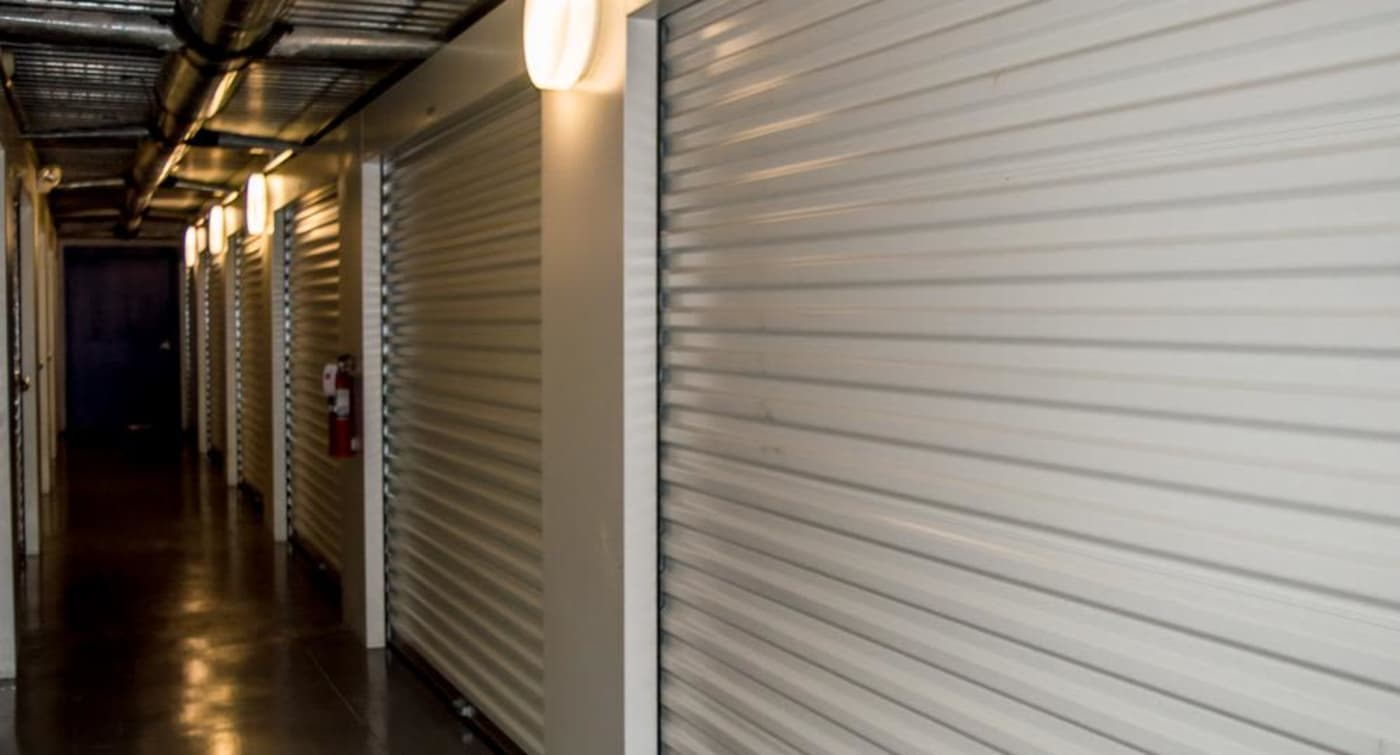 Interior units at Atlantic Self Storage