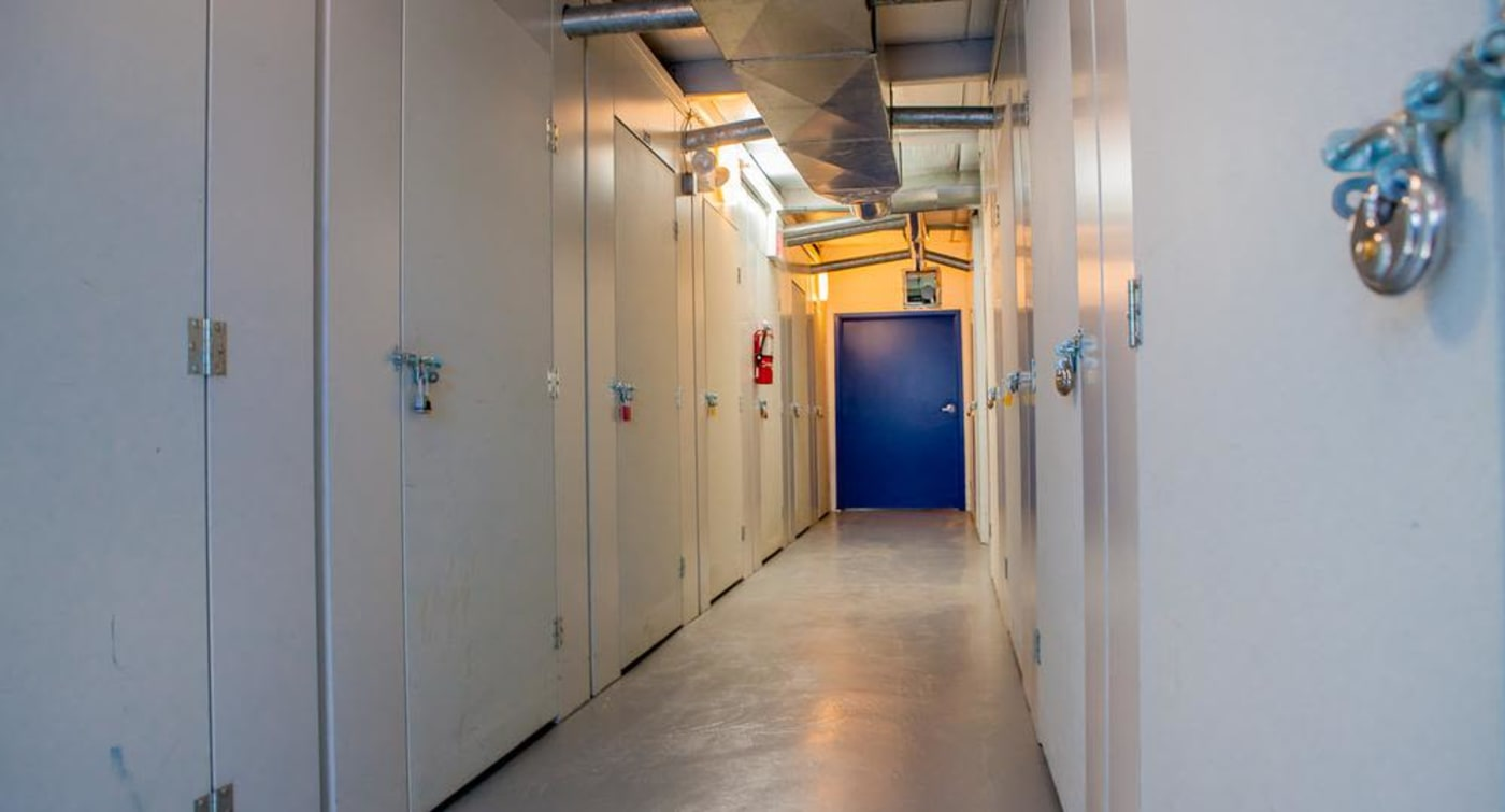 Interior units at Atlantic Self Storage location in St. Augustine