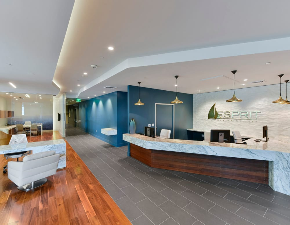 Resident services desk at Esprit Marina del Rey in Marina Del Rey, California