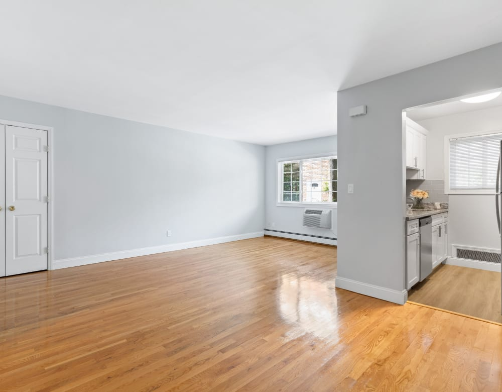 Hardwood flooring at Eagle Rock Apartments at Nesconset in Nesconset, New York