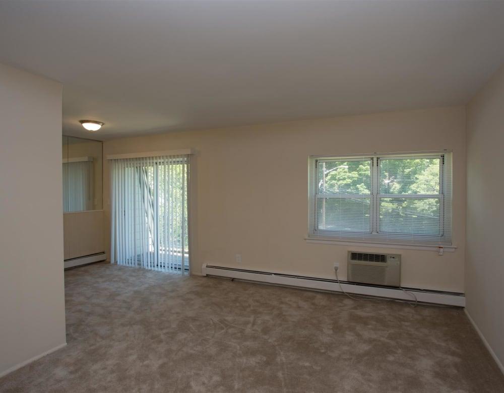 Living room at Eagle Rock Apartments at South Nyack in South Nyack, New York