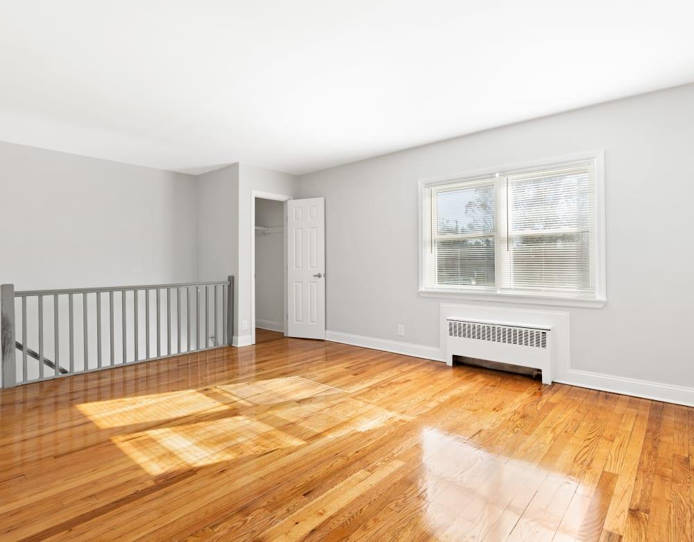 Hardwood flooring at Eagle Rock Apartments at Huntington Station in Huntington Station, New York