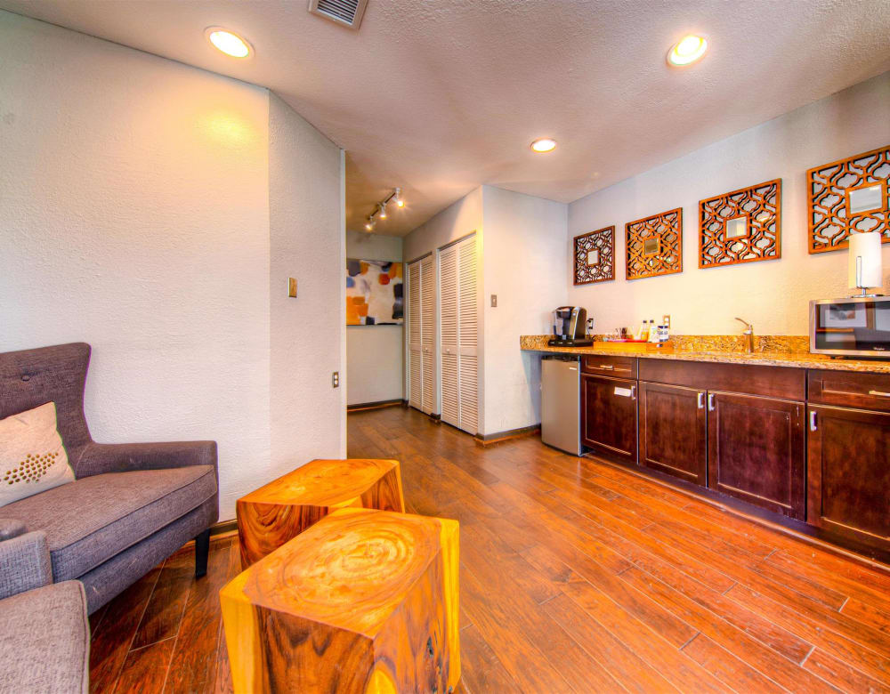 Hardwood flooring at Hampton Point Apartment Homes in Silver Spring, Maryland