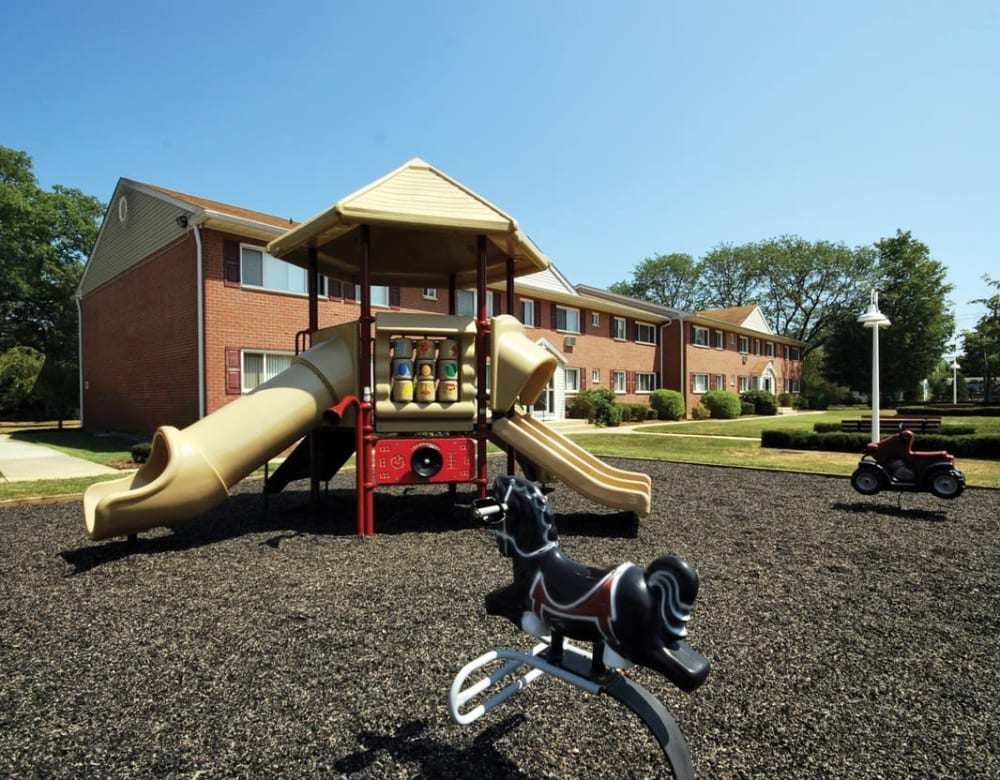 Playground at Mid Island Apartments in Bay Shore, New York