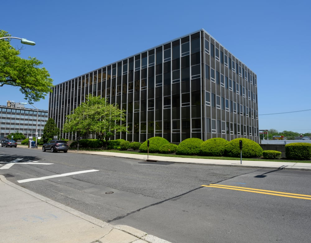 Fabulous exterior of 190 Moore Corporate Center in Hackensack, New Jersey