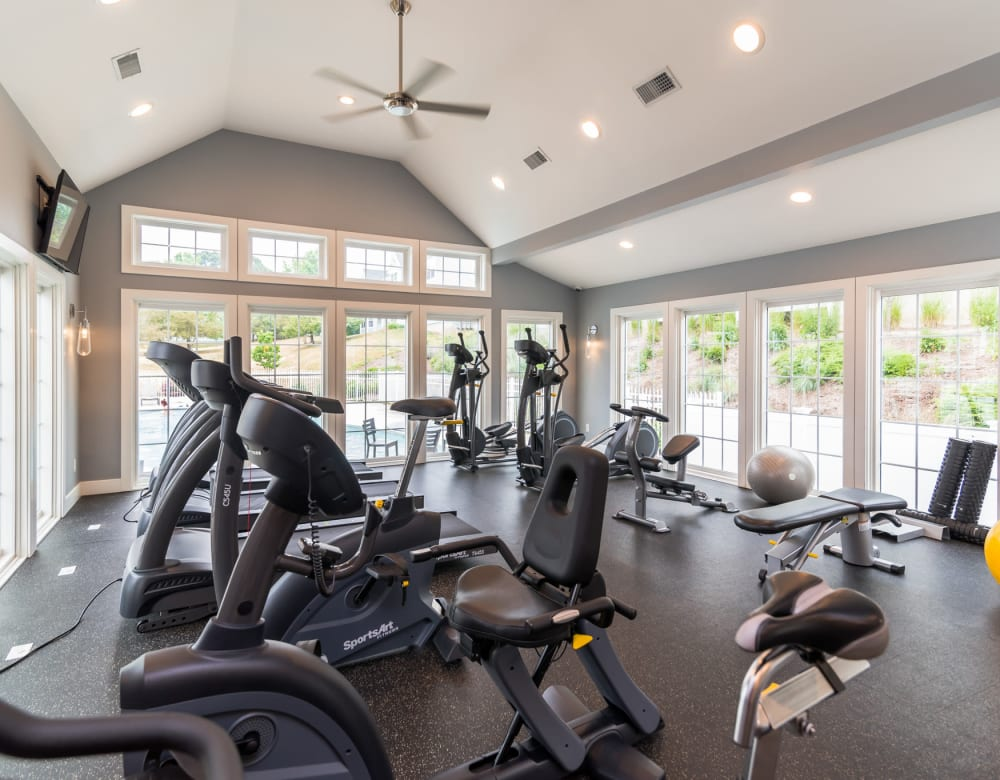 Fitness Center at Summit at Mill Ridge in East Haven, Connecticut
