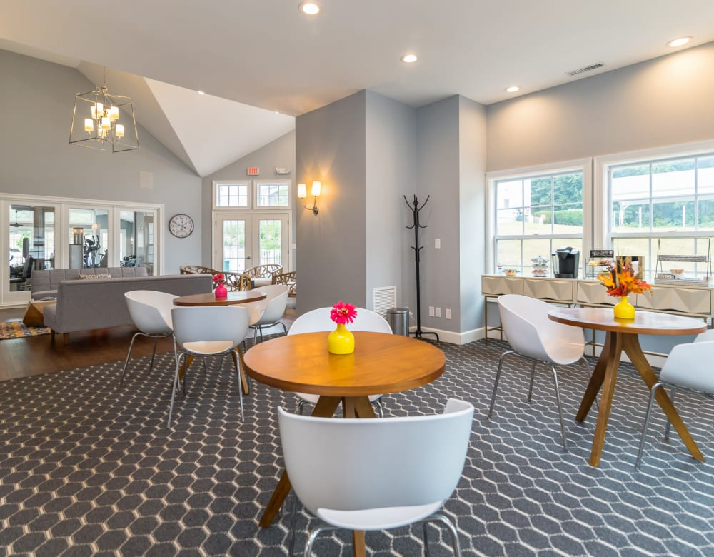 Enjoy Apartments with a Clubhouse at Summit at Mill Ridge
