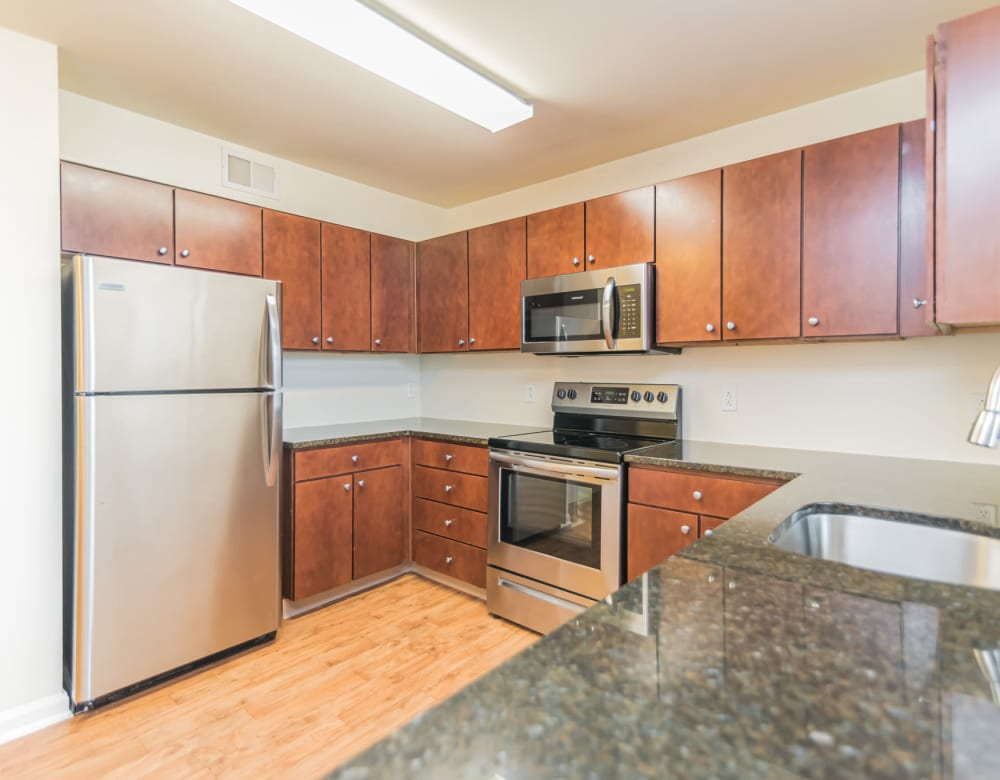 Westville Village Apartments offers a Kitchen in New Haven, Connecticut
