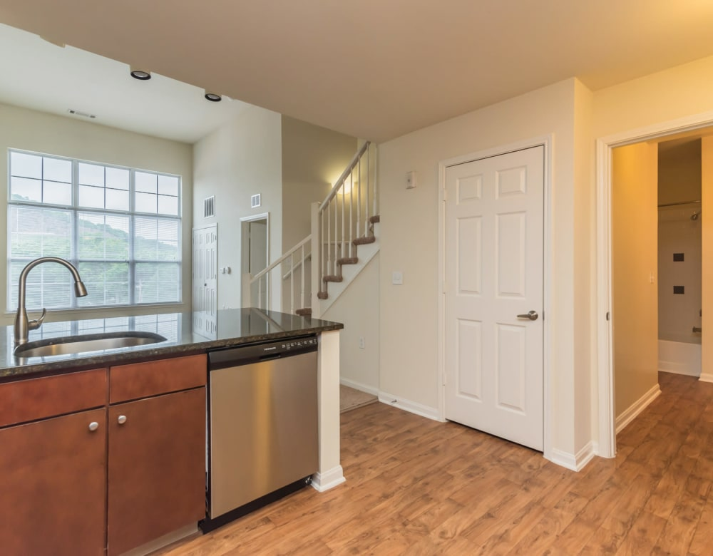 Enjoy Apartments with a Kitchen at Westville Village Apartments