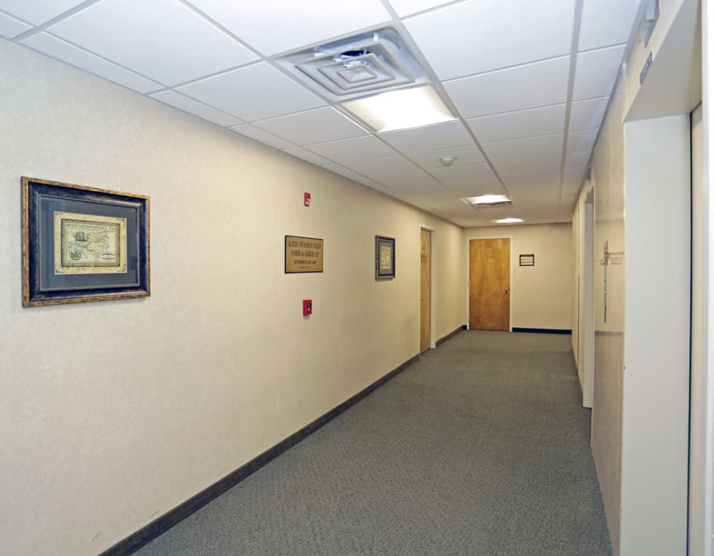 Hallway at 190 Moore Corporate Center in Hackensack, New Jersey