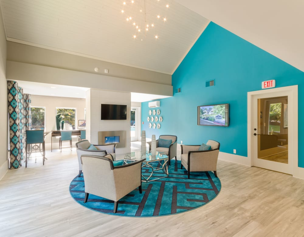 Business Lounge at Eagle Rock Apartments at Columbia in Columbia, Maryland