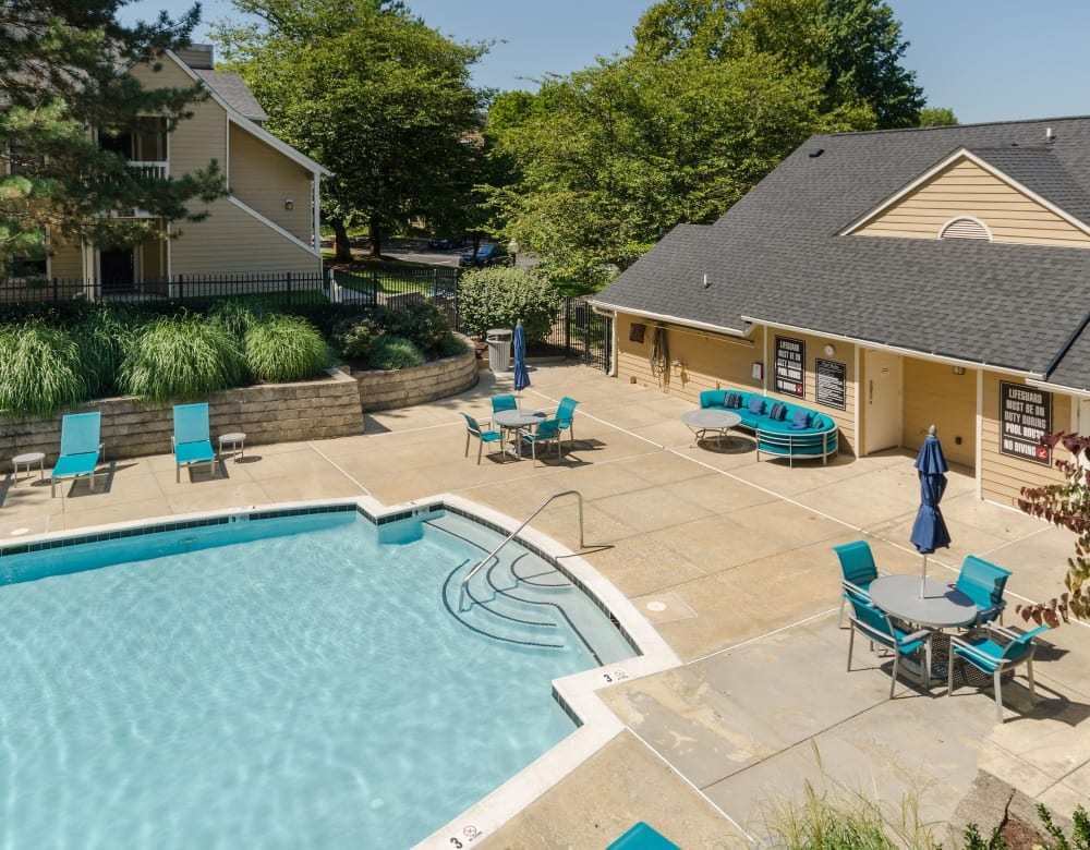 Pool at Eagle Rock Apartments at Columbia's apartments in Columbia, Maryland