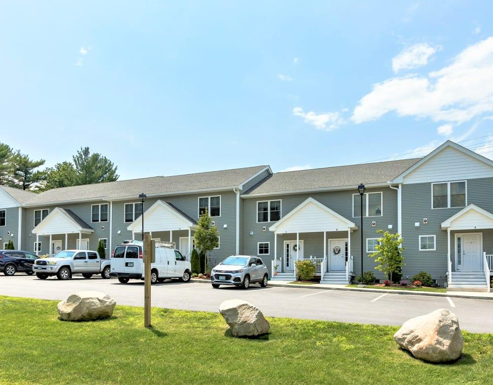 Renovated townhomes at Eagle Rock Apartments at Nashua in Nashua, New Hampshire