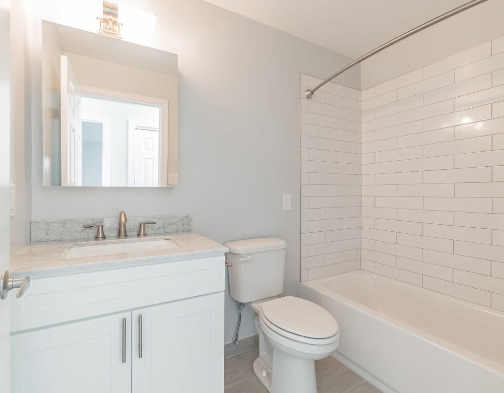Bathroom at Bunt Commons III in Amityville, New York