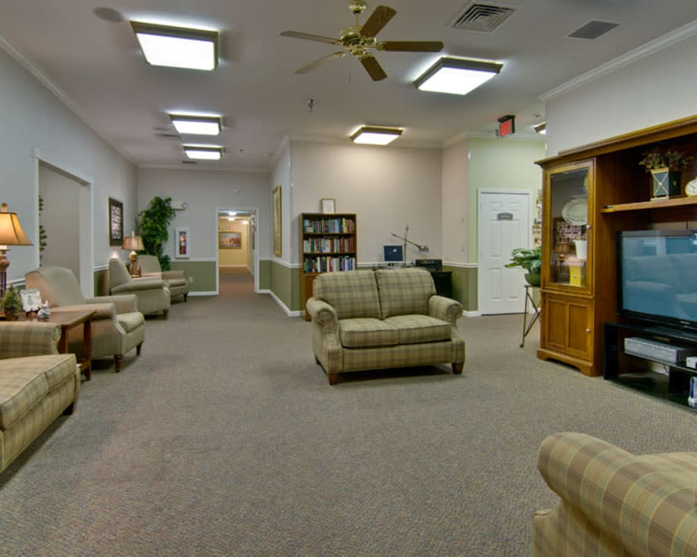 Entertainment room at Park View Meadows in Murfreesboro, Tennessee