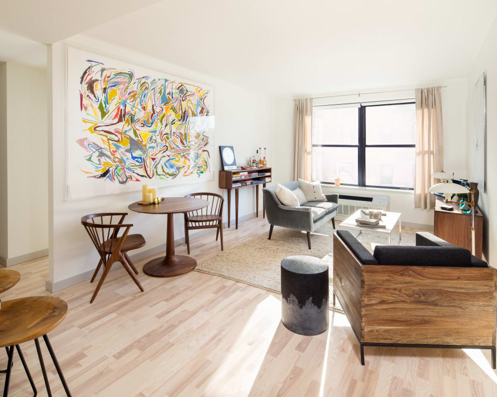 Model apartment at Eleven33 in Brooklyn, New York