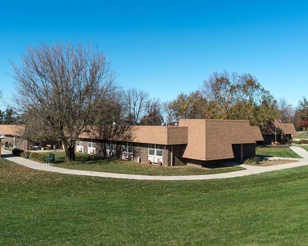 Skilled nursing building at Sabetha Manor in Sabetha, Kansas