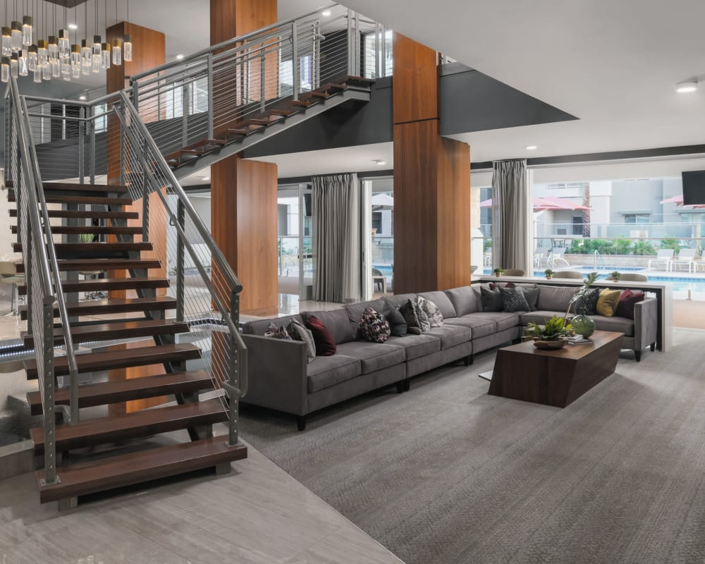 The main lobby at The District at Scottsdale in Scottsdale, Arizona