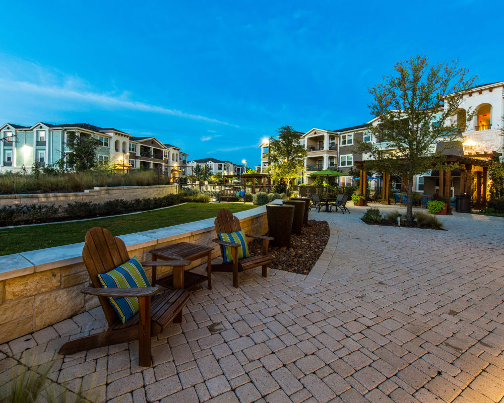 Outdoor view of Wiregrass at Stone Oak in San Antonio, Texas
