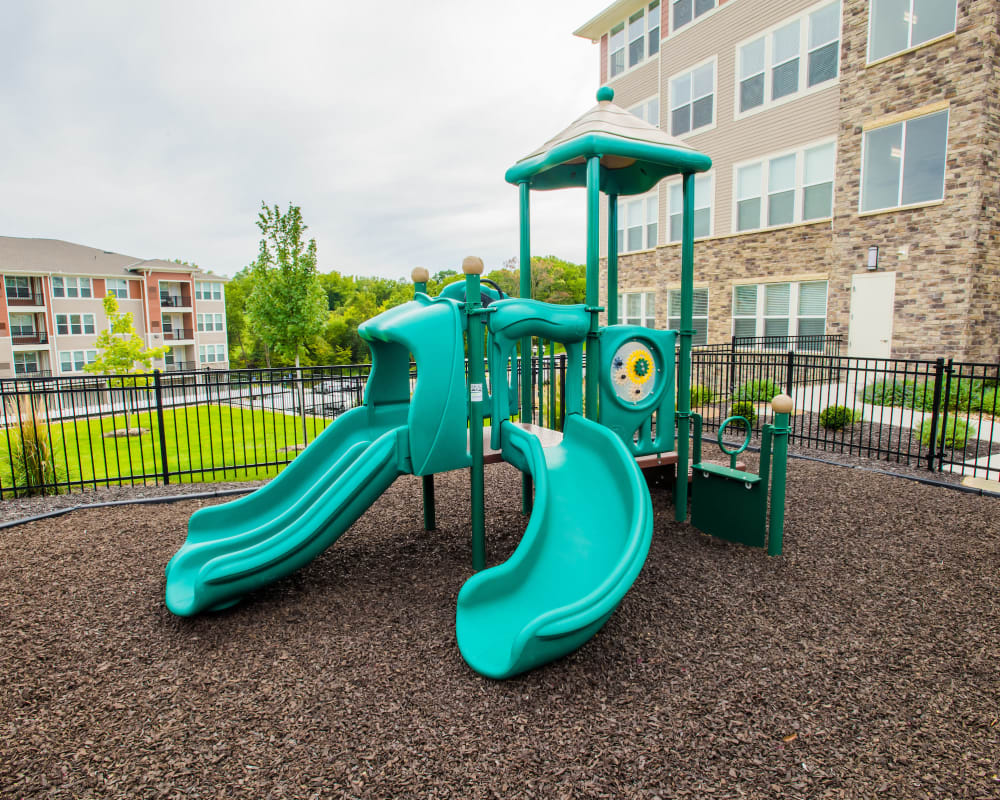 Onsite playground at Altitude 970 in Kansas City, Missouri.
