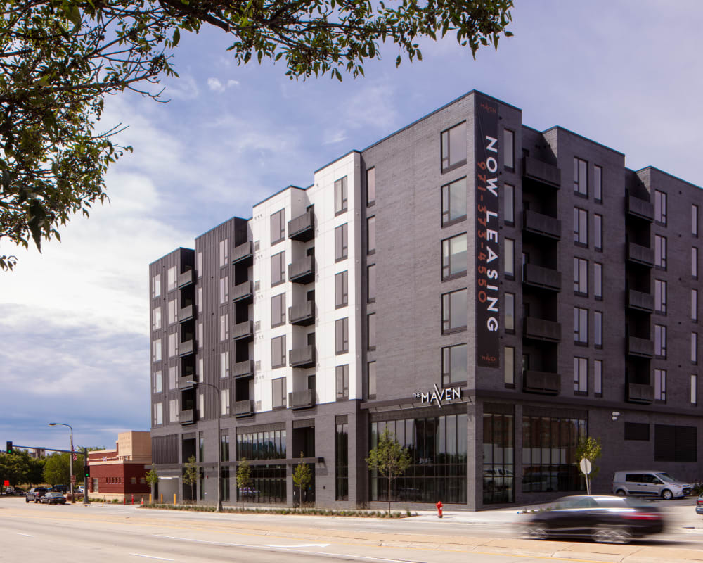 Now Leasing at The Maven on Broadway in Rochester, Minnesota