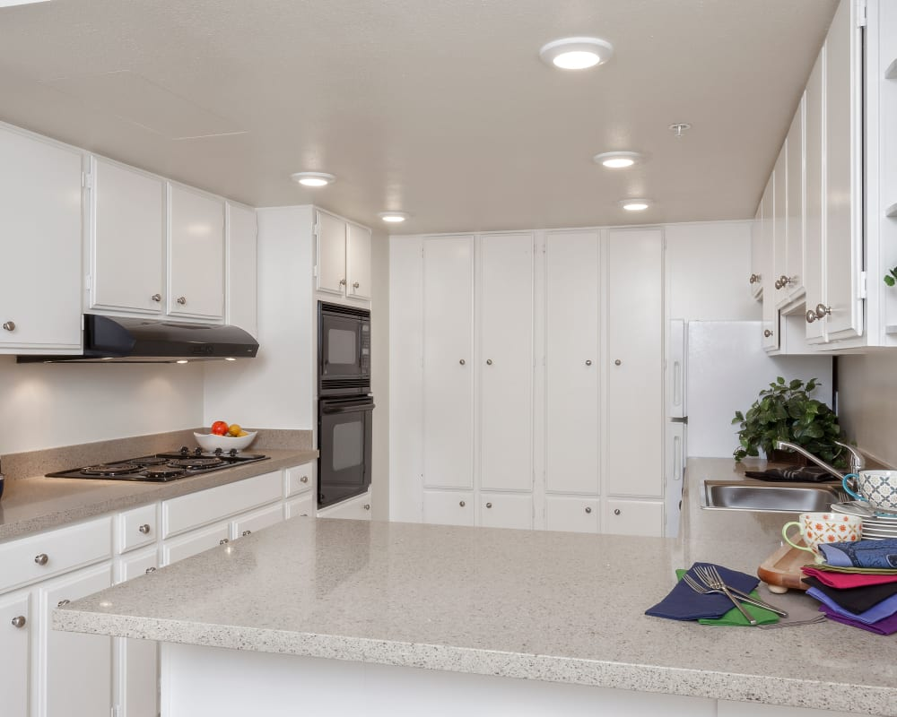 View our floor plans at Hillsborough Plaza Apartments in San Mateo, California