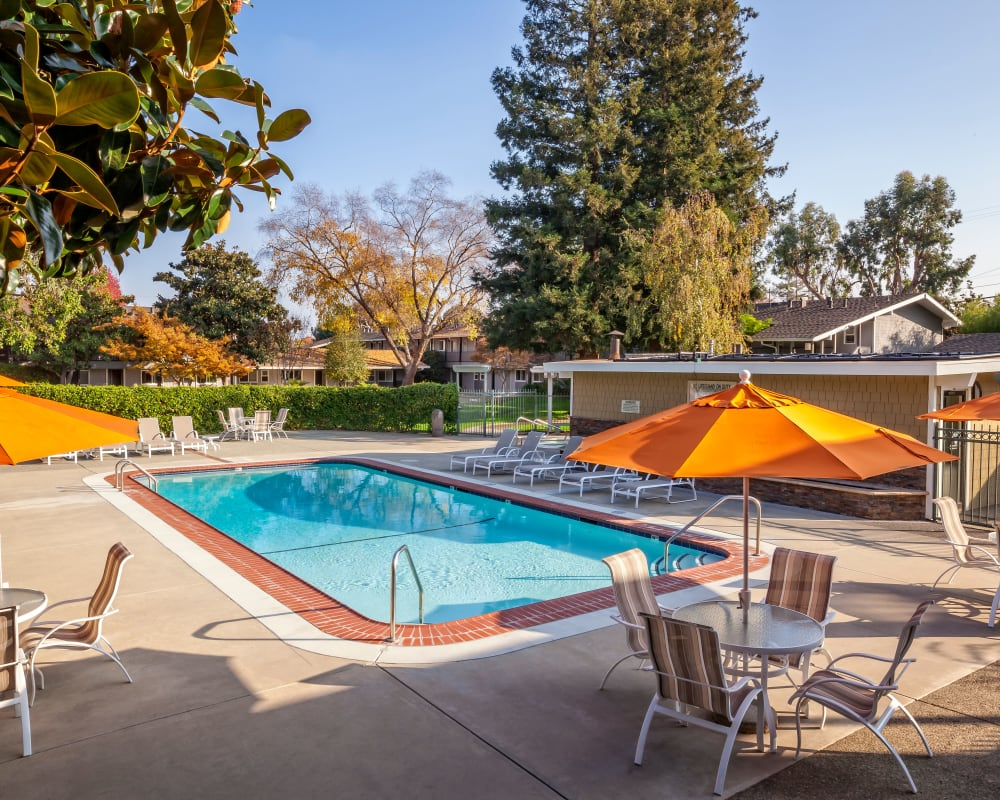 View our amenities at Parkwood Apartments in Sunnyvale, California