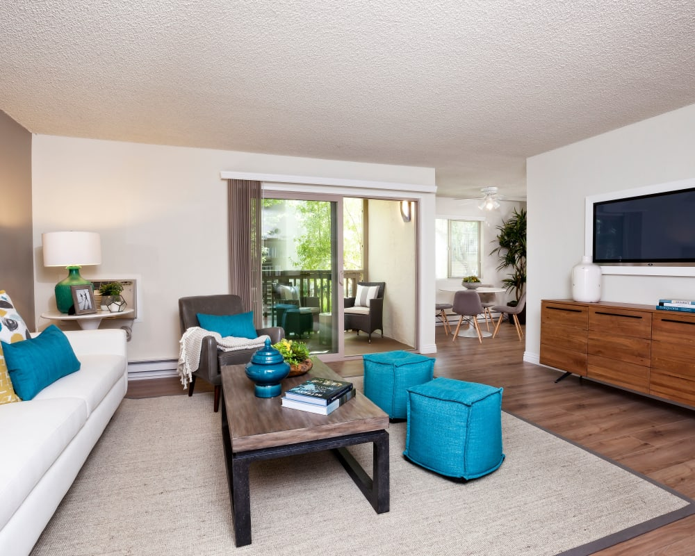 View our floor plans at Spring Creek Apartments in Santa Clara, California