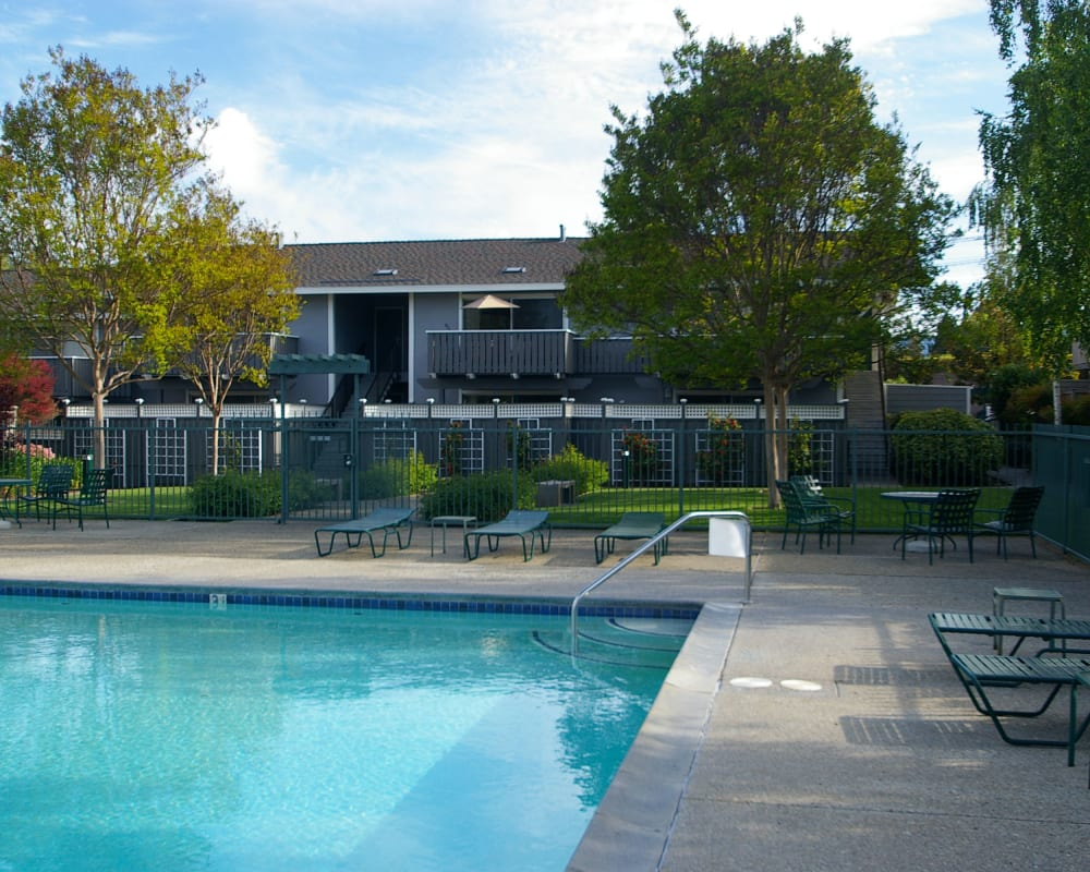 View our amenities at Village Green Apartments in Cupertino, California