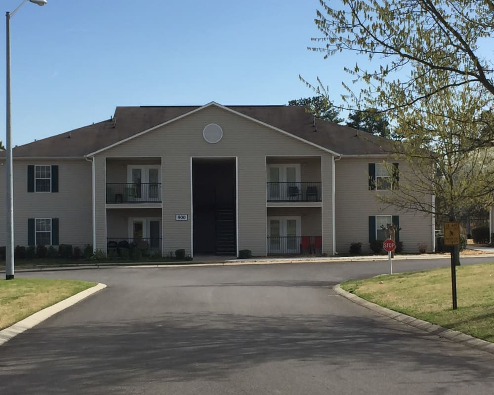 exterior photo of Parktowne Apartments in Cleveland ,Tennessee