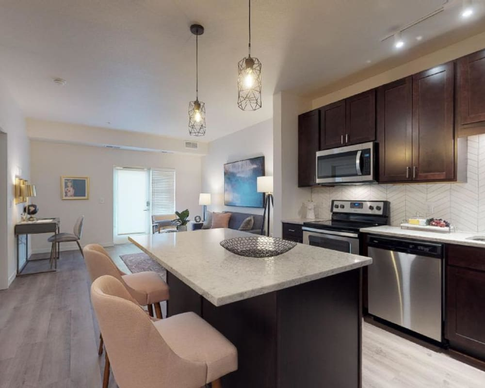 Oaks Minnehaha Longfellow offers state of the art kitchens in Minneapolis, Minnesota