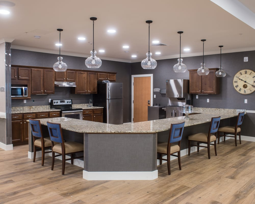 Kitchen at Grand Plains in Pratt, Kansas