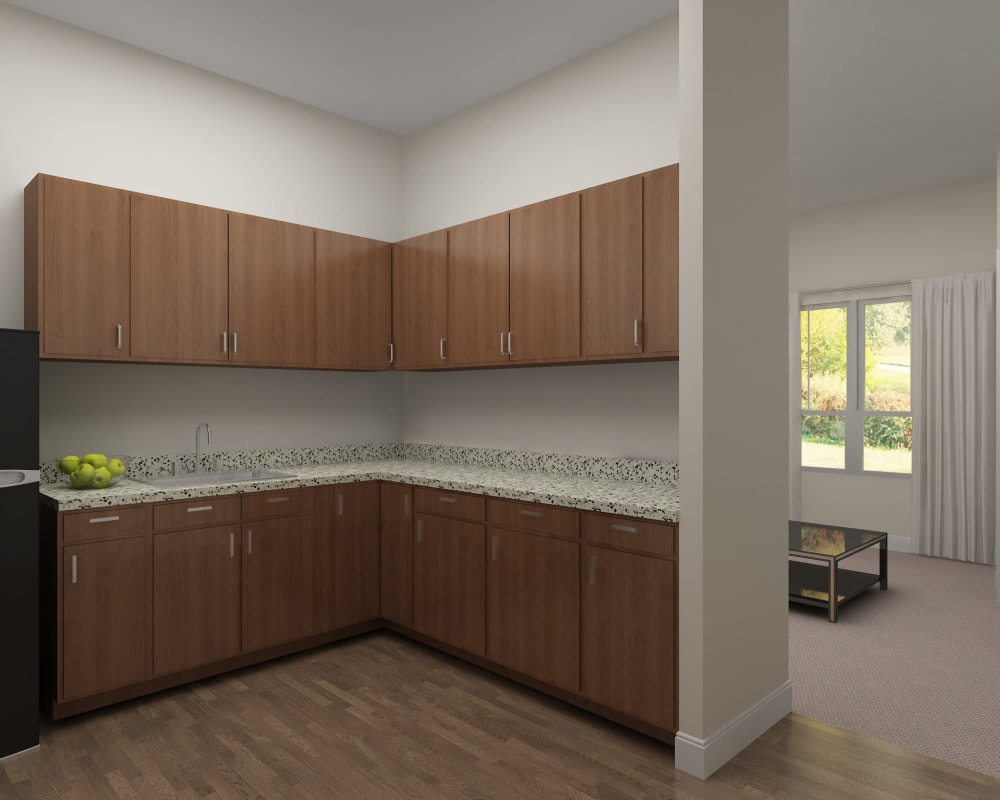 An unfurnished apartment at Harmony at Bellevue in Nashville, Tennessee